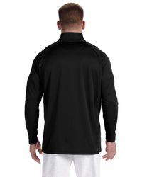 Champion - Coat S270 Plain 5.4 Oz. Performance Colorblock Full-zip Black/black M for Men - Lyst