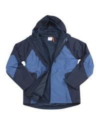 Champion - Blue 3-in-1 Technical Ripstop Seabottom Ski Hooded Jacket Sz: Xxl for Men - Lyst