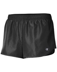 Champion - Black Womens Gear Woven Run Active Shorts - Lyst