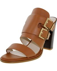 Kenneth Cole - Brown Kenneth Cole Salem Cognac Low Top Leather Sandal - Lyst