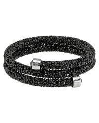 Swarovski - Black Crystal Bangle 5250023 - Lyst