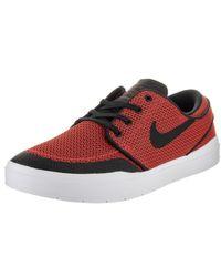 681ad734133 Lyst - Nike Stefan Janoski Hyperfeel Xt Max Orange black Skate Shoe ...