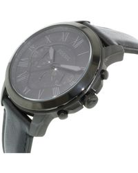 Fossil - Grant Fs5132 Black Dial Watch for Men - Lyst