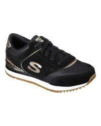 Skechers - Black Sunlite Revival Sneaker - Lyst