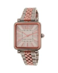 Marc By Marc Jacobs - Metallic Vic Mj3463 Silver Stainless-steel Quartz Fashion Watch - Lyst