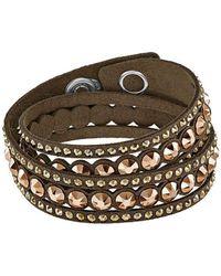 Swarovski | Multicolor Slake Dot Bracelet | Lyst