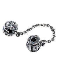 Pandora | Metallic Dreamer Safety Chain W/clip In 925 Sterling Silver | Lyst