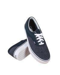 Vans | Blue Unisex Era (suede & Suiting) Drs Bls Skate Shoe 9.5 Men Us / 11 Women Us | Lyst