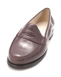 1496d6593c6 Lyst - Cole Haan Classic Penny On Alexa Penny Closed Toe Cordovan in ...
