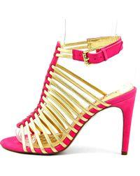 Lauren by Ralph Lauren - Pink Skyla Women Us 7 Multi Color Sandals - Lyst