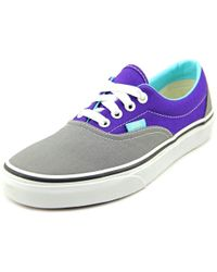 52baa6e78dde Lyst - Vans Era Youth Us 4 Gray Skate Shoe for Men