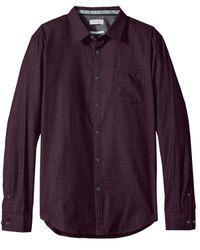 Calvin Klein - Multicolor Mens Slim Fit Long Sleeves Button-down Shirt for Men - Lyst