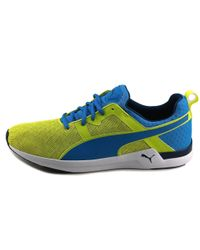 PUMA - Blue Pulse Xt Sport Men Us 9 Yellow Sneakers for Men - Lyst