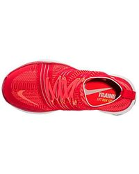 95f5ca090c99 Lyst - Nike Free Train Instinct 2 Training Shoes in Red for Men