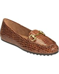 Aerosoles - Brown Drive Through Flats - Lyst