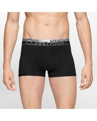 CALVIN KLEIN 205W39NYC - Magnetic Cotton Trunk In Black for Men - Lyst