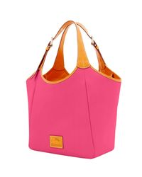 Dooney & Bourke - Pink Patterson Leather Large Penelope Tote - Lyst