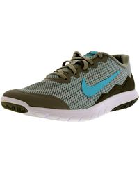 Nike - Gray Flex Experience Rn 4 W Wold Grey/td Pl Blue/cool Grey/white Ankle-high Running Shoe for Men - Lyst