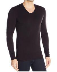 Calvin Klein - Black Mens Size Large L Thermal Long Sleeve Tee Shirt for Men - Lyst