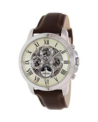 Fossil | Multicolor Grant Me3027 White Dial Watch for Men | Lyst