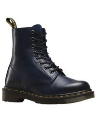 Dr. Martens | Blue Unisex Pascal 8-eye Boot | Lyst