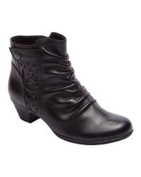Rockport - Black Cobb Hill Abilene Ankle Boot - Lyst