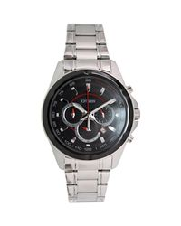 Citizen - Metallic Chronograph An8041-51e Silver Stainless-steel Quartz Fashion Watch for Men - Lyst