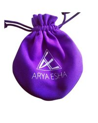 Arya Esha - Cushion Cut Green Aventurine And Diamond Ring - Lyst