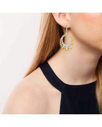 Ivanka Trump - Multicolor Liberté Oval Drop Earrings - Lyst