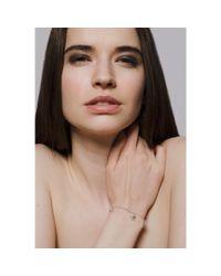 Yen Jewellery - Multicolor Molecule Scatter Bracelet - Lyst
