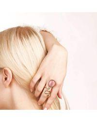Hyrv - Pink Ring Long Large Rose - Lyst