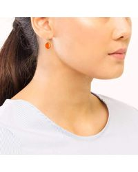 Syna - Multicolor 18kt Orange Chalcedony Chakra Earrings - Lyst