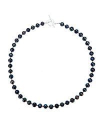 Lily Blanche - Multicolor Sterling Pearl Necklace - Midnight - Lyst