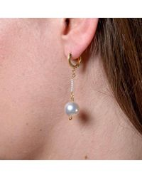 Donna Pizarro Designs - Multicolor 18kt South Sea Pearl Drop Earrings - Lyst