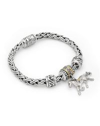 Deni Jewelry - Metallic Horse Charm Bracelet - Lyst