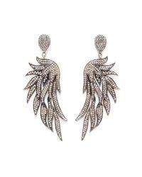 Carole Shashona | Metallic Fire Wing Earrings | Lyst