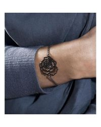MANJA Jewellery Multicolor Rosa Large Silver Bracelet