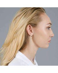 ANUKA - Multicolor Koti Vertica Silverl Rectangle Earrings - Lyst