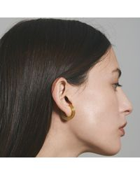 aka jewellery - Multicolor Orbit Small Radius Lobe Cuff Earrings - Lyst