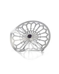 Her Design - Multicolor Radial Brooch - Lyst