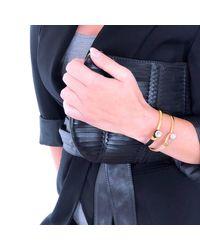 Yan Neo London - Multicolor Poppy Tan & Gold Leather Bracelet - Lyst