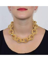 Tove Rygg - Metallic Goddess Link Necklace - Lyst