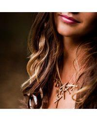 Lumitoro - Multicolor Stickii Necklace Raw Bronze - Lyst