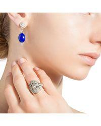 Katherine LeGrand Custom Goldsmith - Blue Haute Bijoux Lapis Drops - Lyst