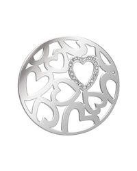 Lucet Mundi - Metallic Small Silver Loverhearts Starter Set - Lyst