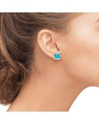 HERA - Blue Zoe Turquoise Earrings - Lyst
