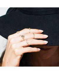 Black Betty Design - Multicolor Big Polki On A Ring - Lyst