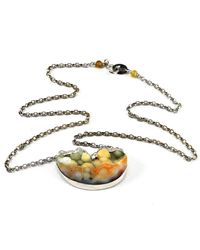 BethCarina - Metallic Nimbus Necklace - Lyst