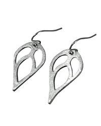 Sima Vaziry | Metallic Bloom Silver Earrings | Lyst