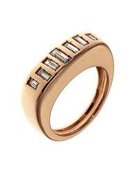 Botta Gioielli - Multicolor Little Diamonds Code Ring - Lyst